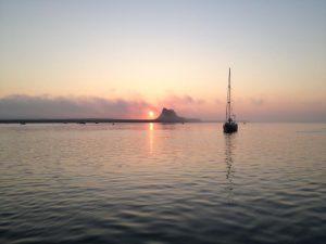 Holy Isle, dawn