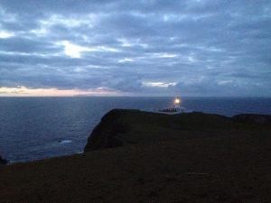 North Light on Fair Isle