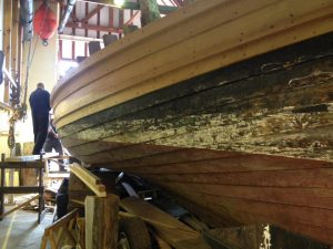 Boat restoration, Scottish Fisheries Museum, Anstruther