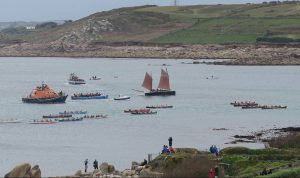 Barnabas at the World Pilot Gig Championships, Scilly