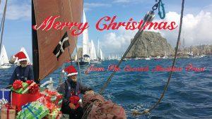 Coming through Les Tas de Pois, Brest parade of sail...