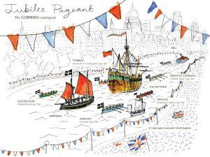 Jubilee pageantry