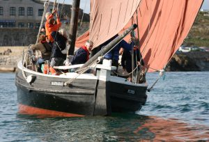Tacking off St Ives